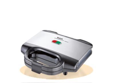 Sandwichera Tefal Ultracompact Negro Inox Capa antiadherente