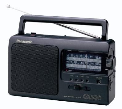 Radio Transistor Panasonic RF-3500E9-K 1