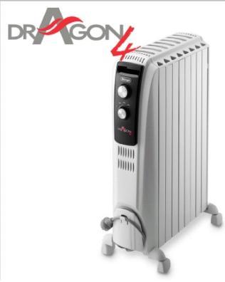 Radiador/Emisor DeLonghi TRD41025 2500