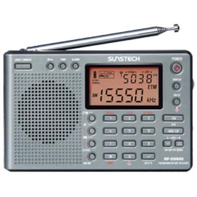 Radio Transistor Sunstech RP-DS800 Plata