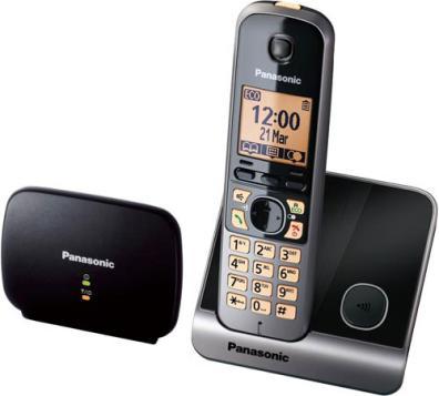 Teléfono Panasonic KX-TG6751SPB 1