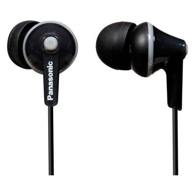 Auriculares Panasonic RP-HJE125E-K Negro