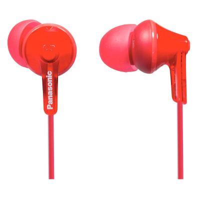 Auriculares Panasonic RP-HJE125E-R Rojo