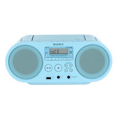 Radio CD Sony ZSPS50L.CED Azul