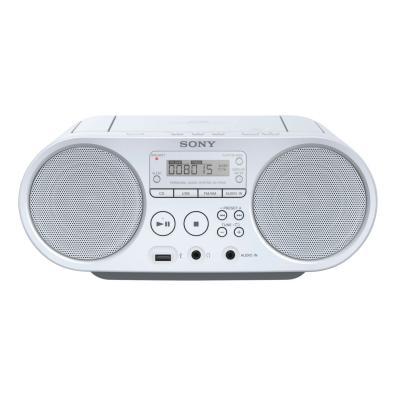 Radio CD Sony ZSPS50W.CED Blanco