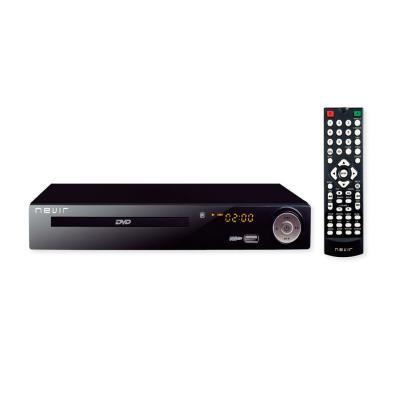 Reproductor DVD Nevir NVR-2355 DVD-T2HDU DVD, DVD+R, DVD+RW, VCD, CD, CD-R, CD-RW