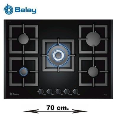 Placa gas Balay 3ETG676HB Gas Butano