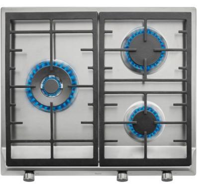 Placa gas Teka EX 60.1 3G AI AL DR NAT Gas Natural