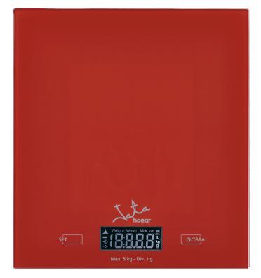 Báscula de cocina JATA 729 Roja