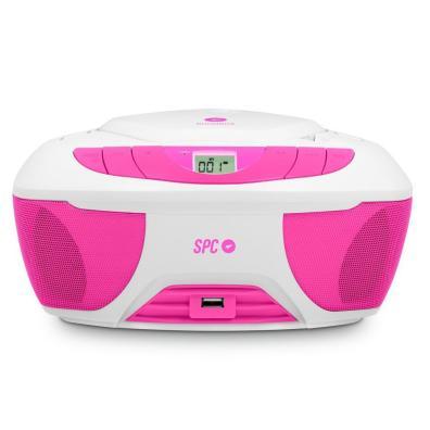 Radio CD SPC 4500P BOOMBOX ROSA 6