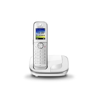 Teléfono Panasonic KX-TGJ310SPW 1