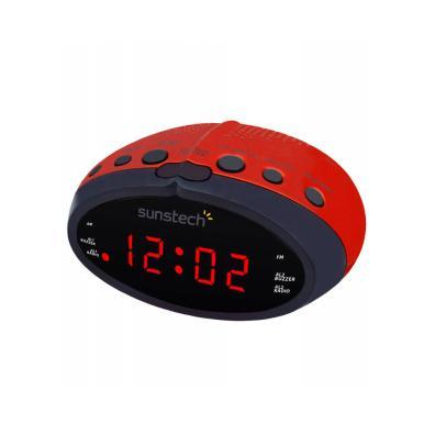 Radio despertador Sunstech FRD16 Rojo