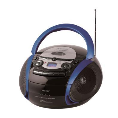 Radio CD Nevir NVR-482UCM Negro