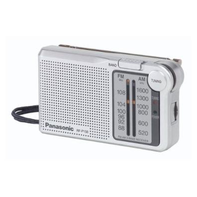 Radio Transistor Panasonic RF-P150EG9S Plata