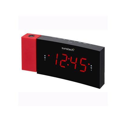 Radio despertador Sunstech FRDP3RD Rojo