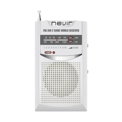 Radio transistor Nevir NVR-136 Plata