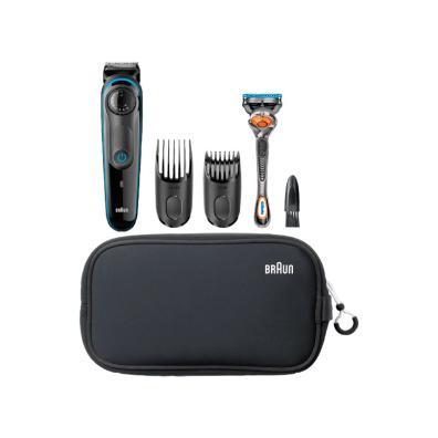 Barbero/perfilador Braun BT3940 Negro/Azul