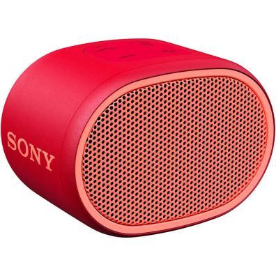 Altavoz Sony SRSXB01 Rojo