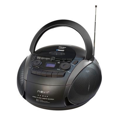 Radio CD/DVD Nevir NVR-482UCM BLACK Negro