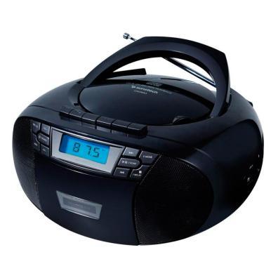 Radio CD/Casette Sunstech CXUM53BK 2