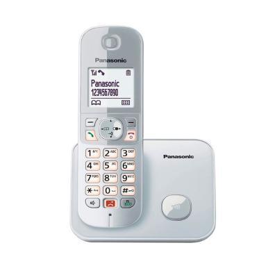Teléfono Panasonic KX-TG6851SPS Plata