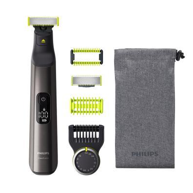 Barbero/Perfilador Philips OneBlade QP6550/15 Cromado