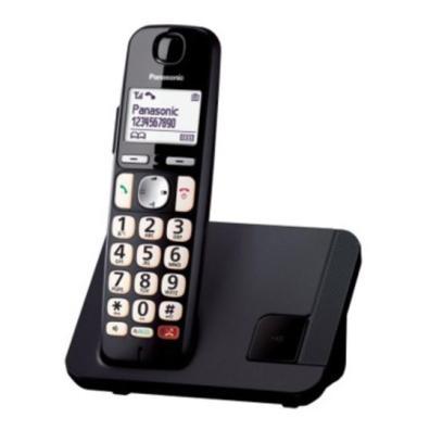 Teléfono Panasonic KX-TGE250SPB Negro