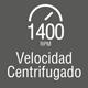 Velocidad de centrifugado (RPM)