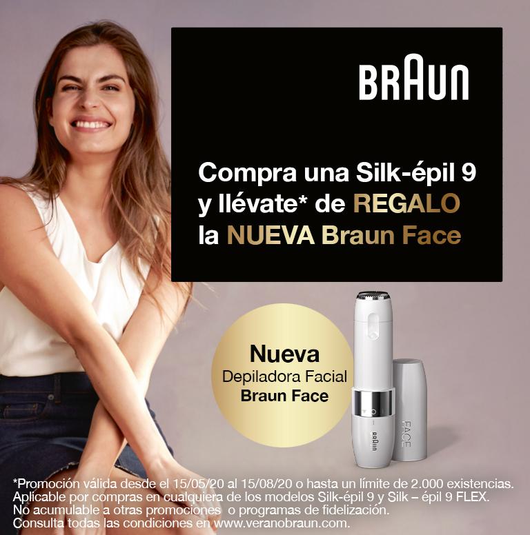 Llévate una Braun Face por la compra de tu Silk-épil