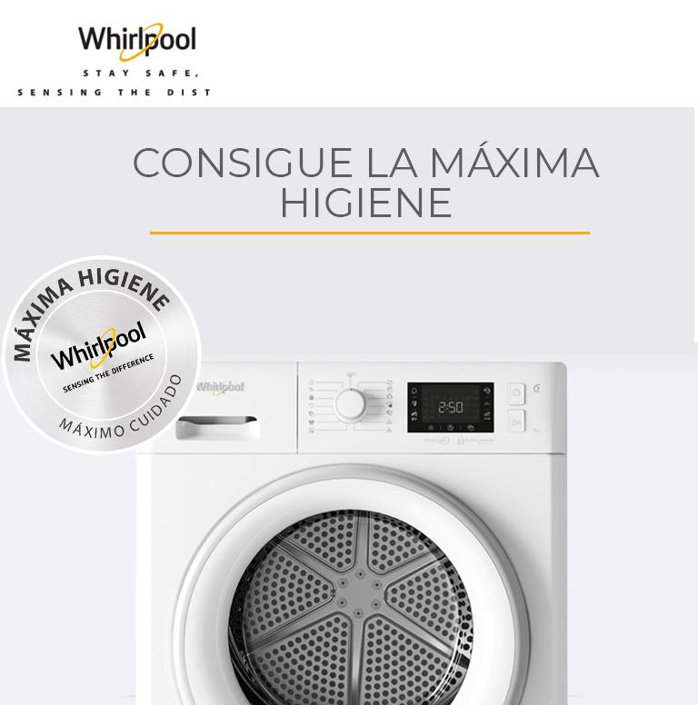 Llévate la Máxima Higiene por la compra de tu producto Whirlpool
