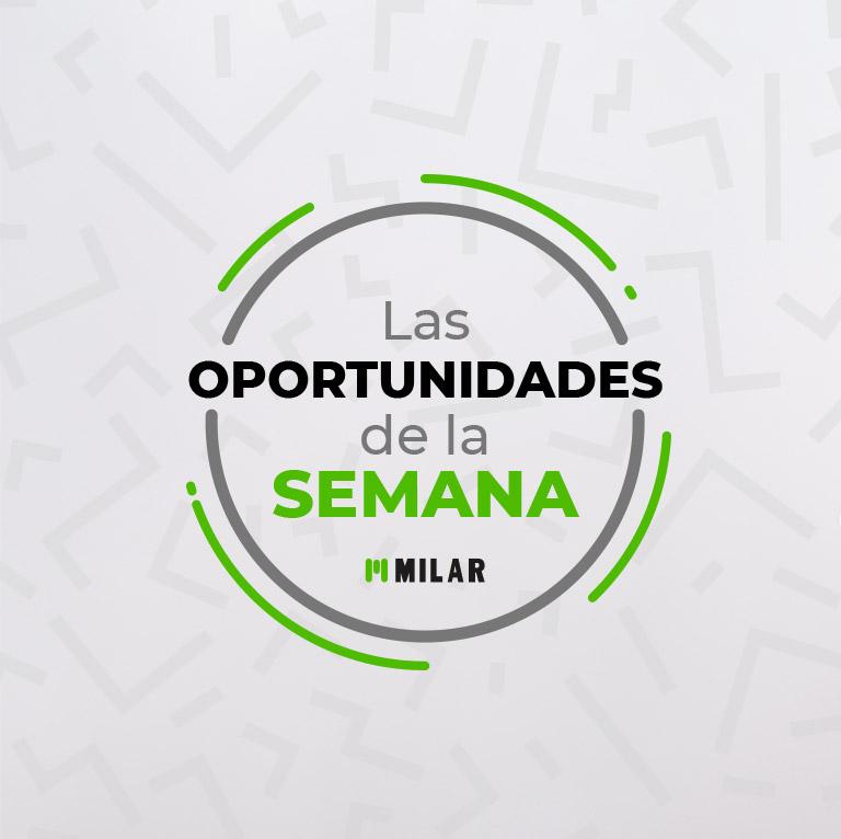 Las oportunidades de la semana están en Milar ¡Encuentra la tuya!