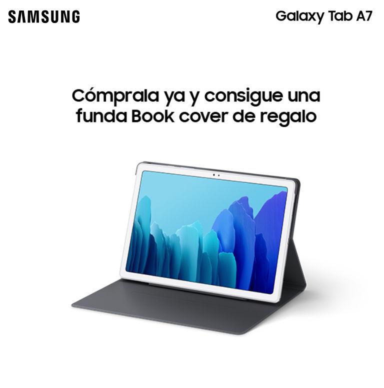 Consigue una funda de regalo por la compra de tu tablet Galaxy Tab A7 Samsung
