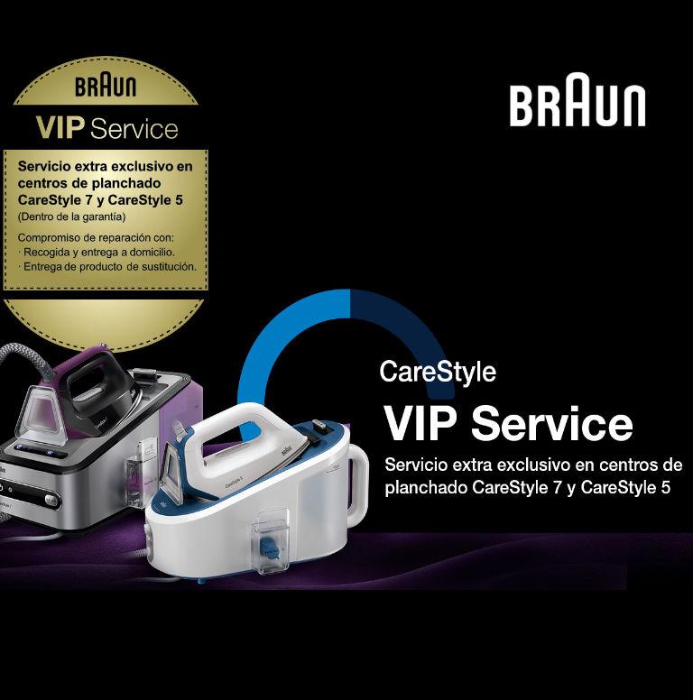 Llévate un Servicio Premium por la compra de tu Centro de Planchado CareStyle de Braun