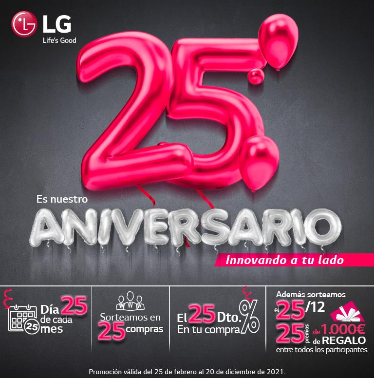 Compra tu producto LG y consigue una tarjeta prepago Mastercard