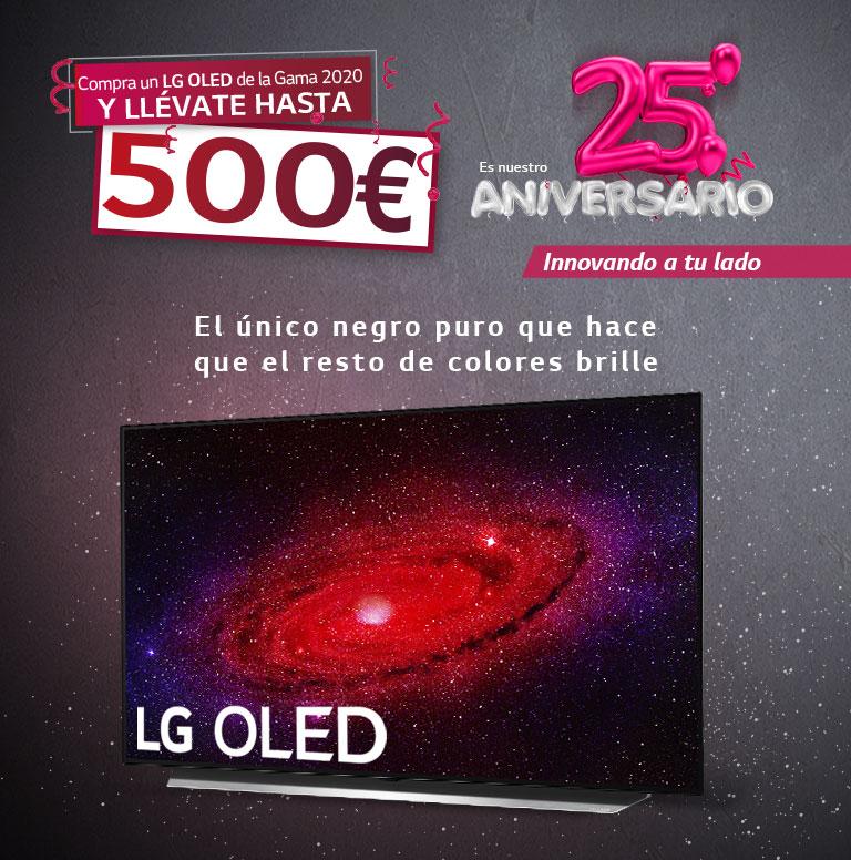 Compra tu televisor OLED LG y consigue un reembolso de hasta 500 euros