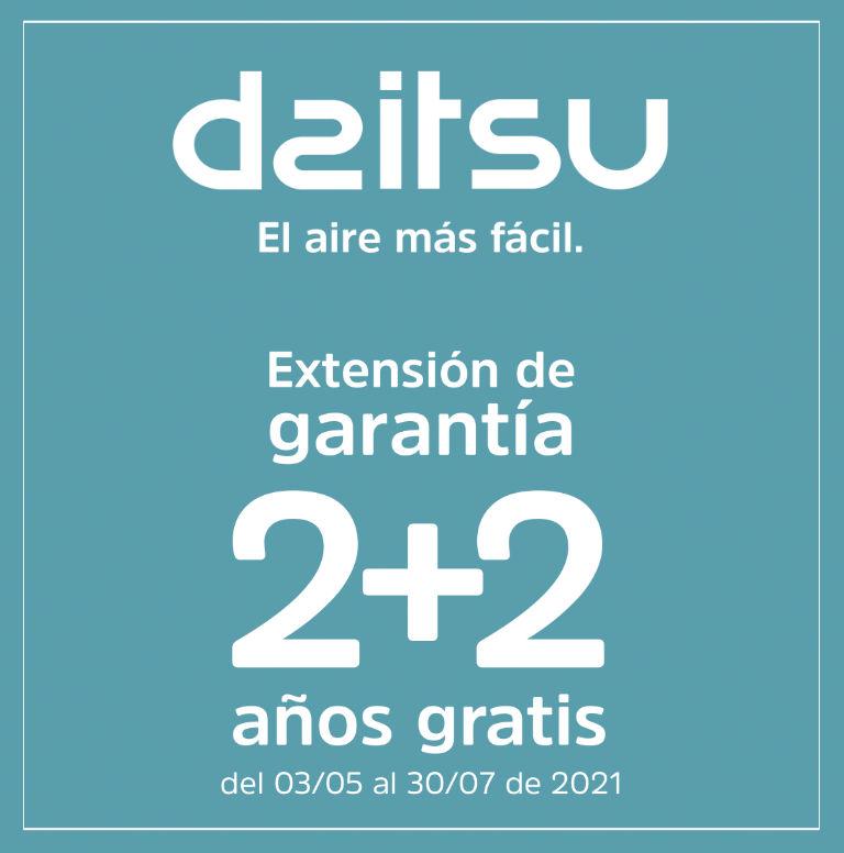 Compra tu Aire Acondicionado Daitsu y consigue una extensión de garantía