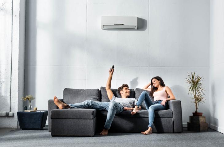 temperatura ideal aire acondicionado bomba de calor