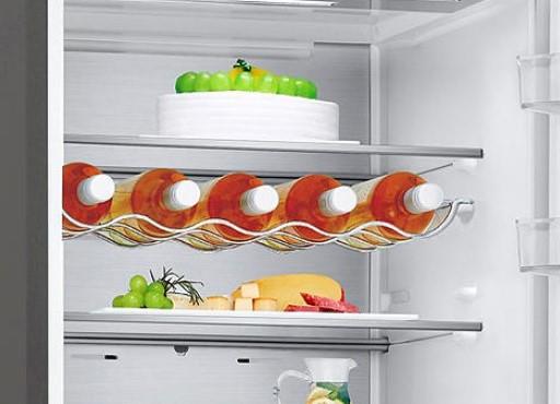 interior frigorífico no frost lg
