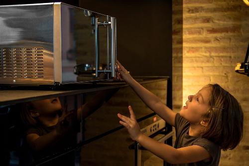 microondas seguro infantil
