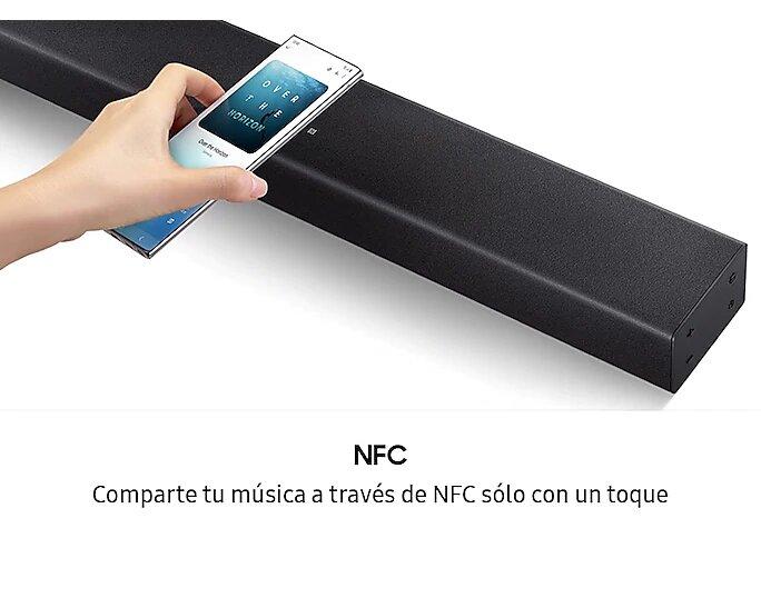 barra de sonido NFC