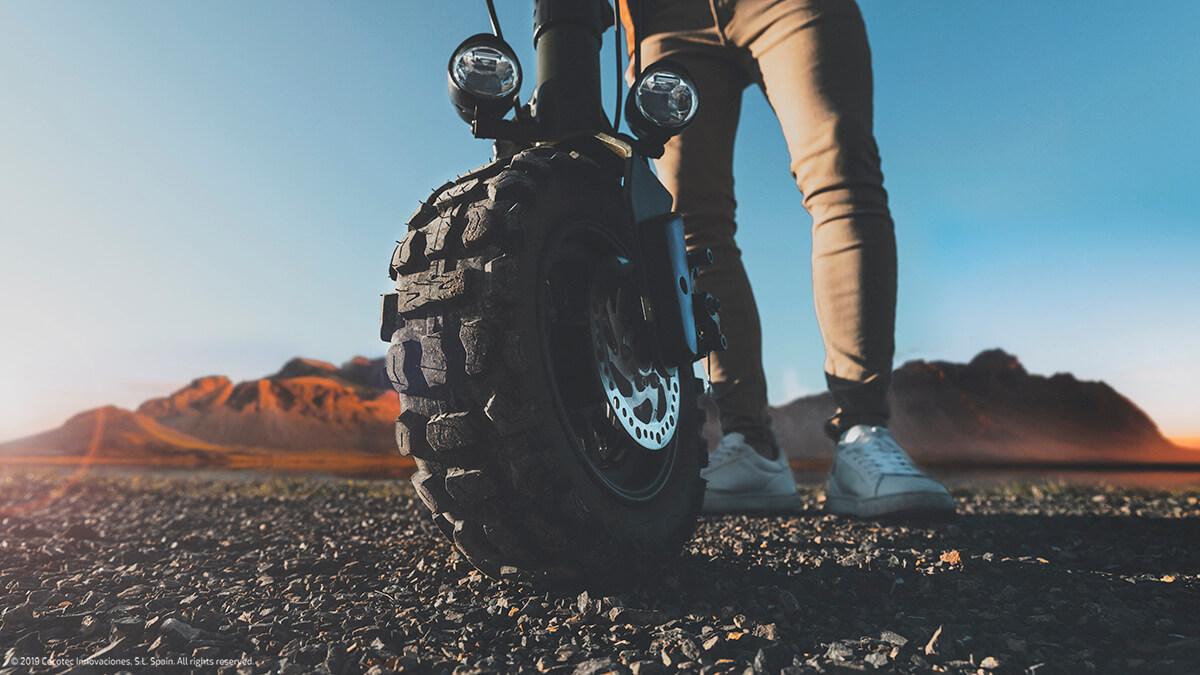 patinete eléctrico ruedas