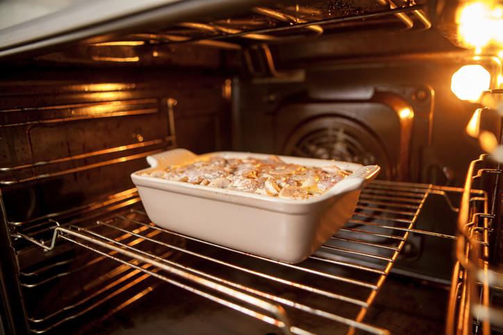 receta al horno