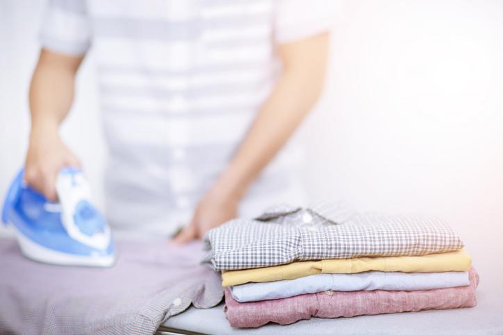 ropa para planchar