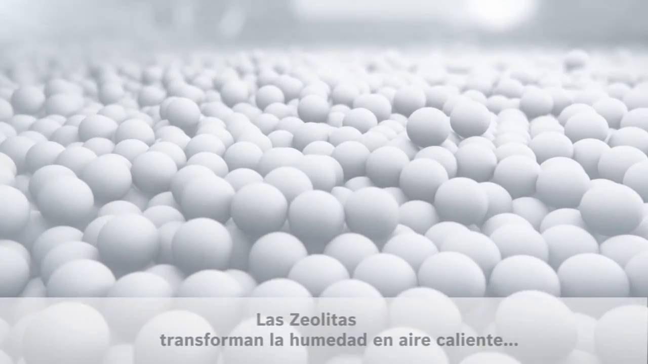 Secado con Zeolitas