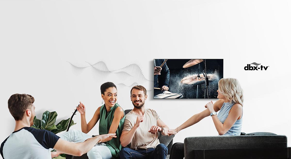 mejora audio sonido televisor hisense smart tv